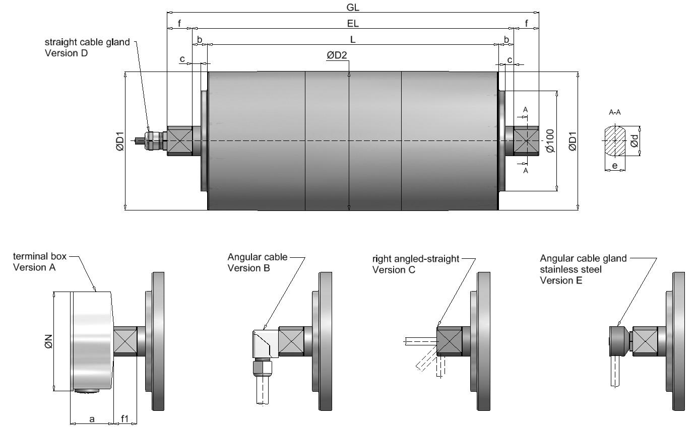 Axis TM138 dimensions