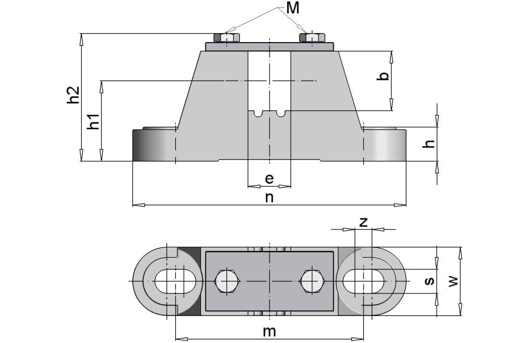 TM160 Clamping Bearings EL 40-30